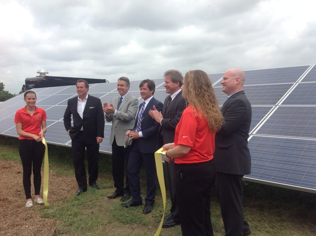 IMS solar farm ribbon cutting_2014-07-01