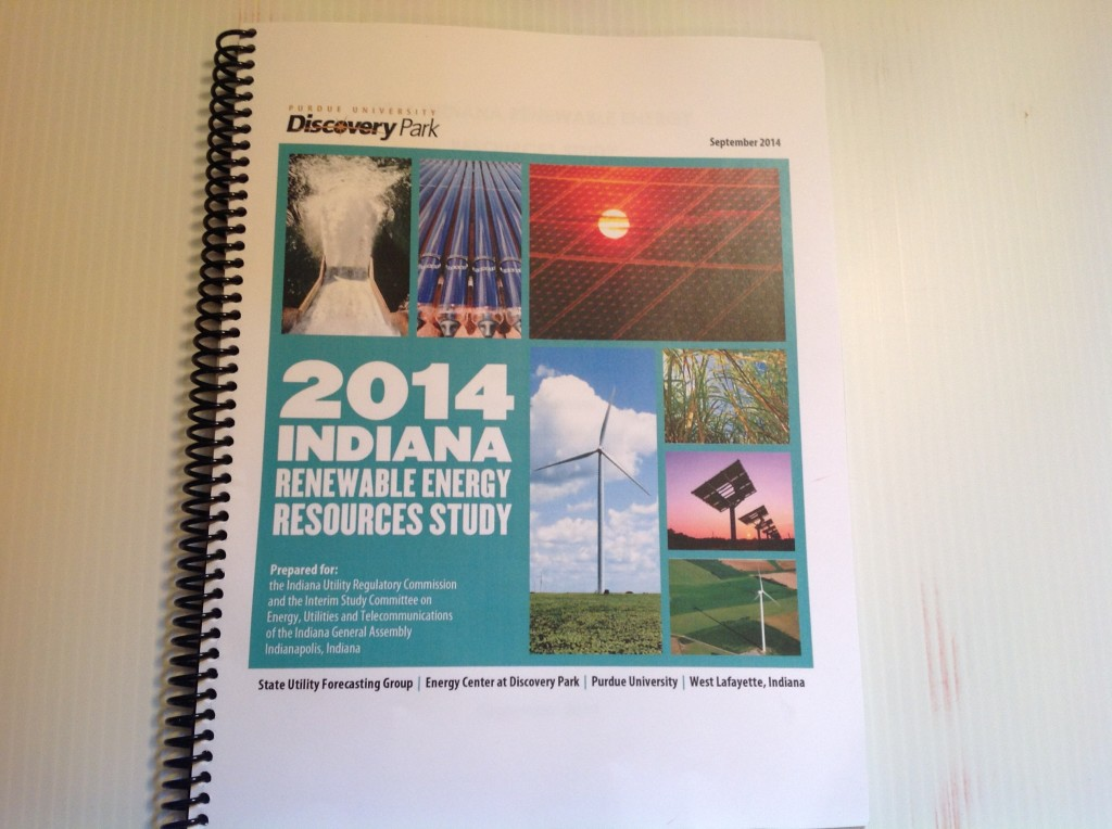 2014 Indiana Renewable Energy Report