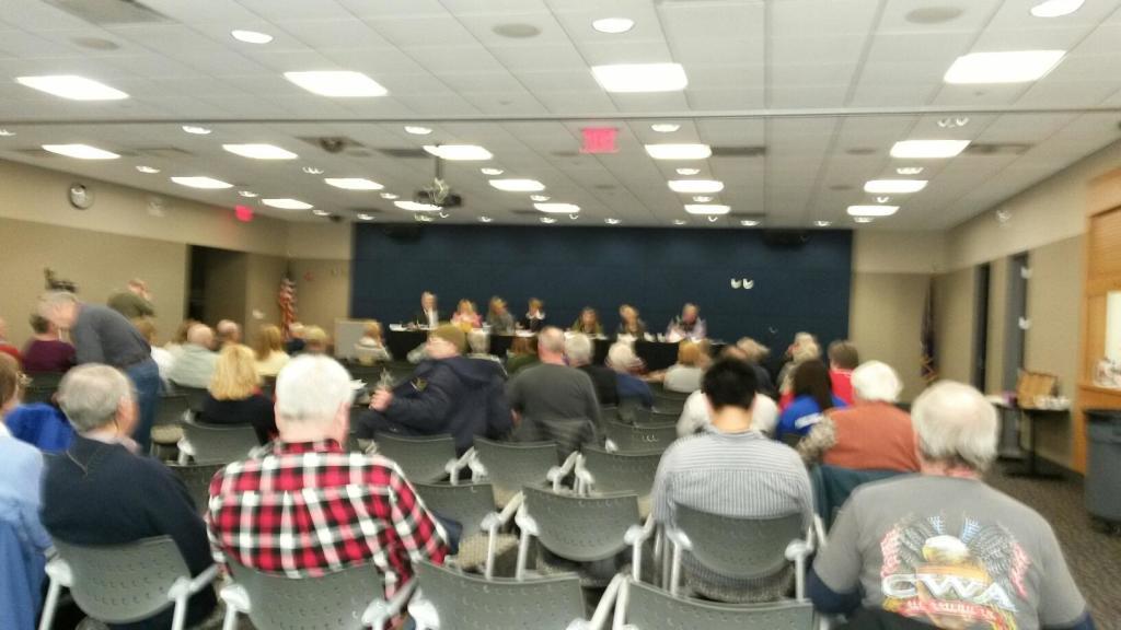 Evansville Meeting Your Legislator Session 2015-01-10