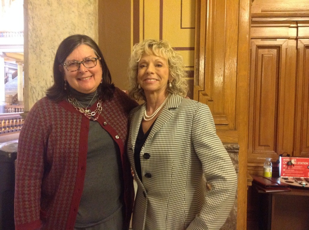 Laura Ann Arnold (left) with Debbie Dooley (right)_2015-02-19
