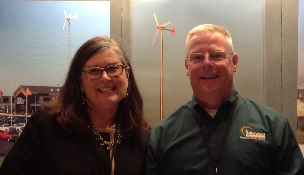 Laura Ann Arnold (left) and Kevin Moore (right)
