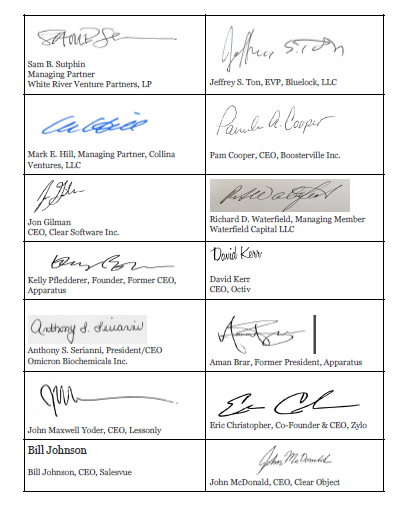 Tech Leaders Signatures 2