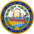 State off New Hampshire logo