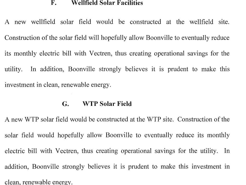 Boonvill solar