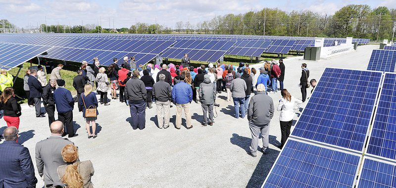 IMPA Anderson solar farm