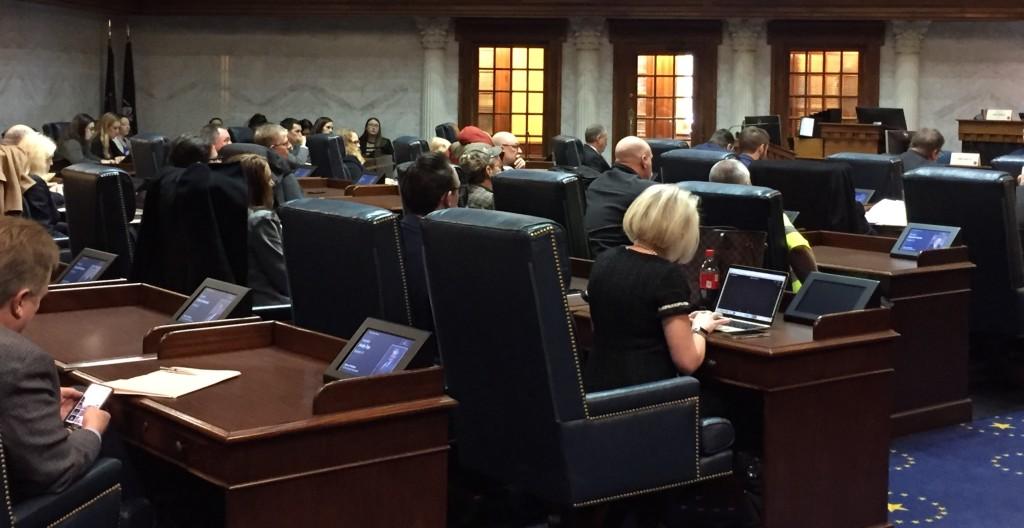 Senate chambers HB 1414