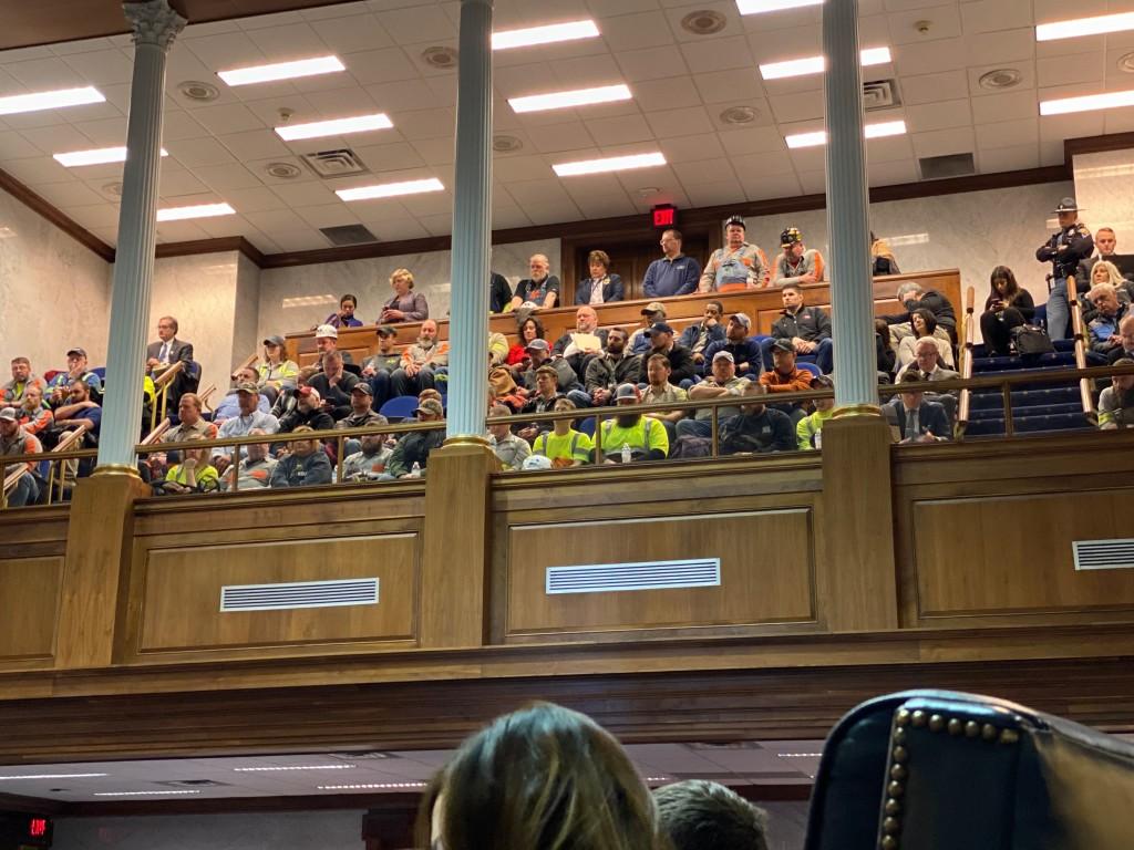 Senate gallery HB 1414