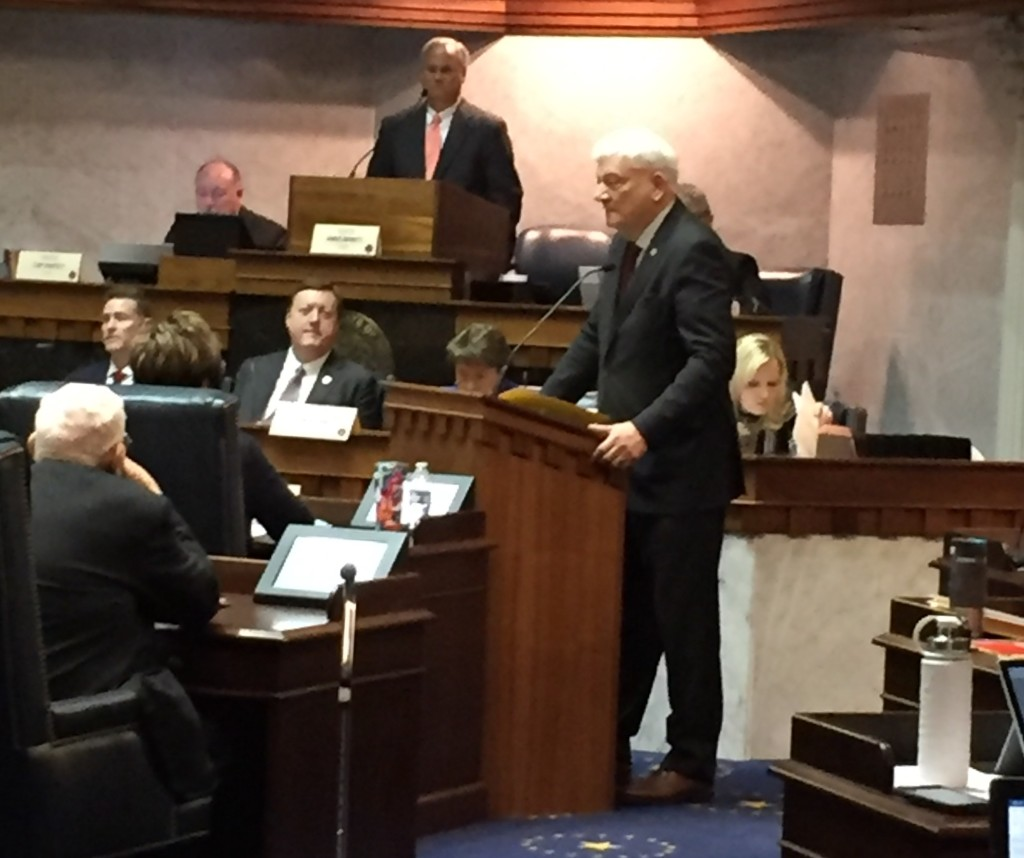 Soliday presents HB 1414