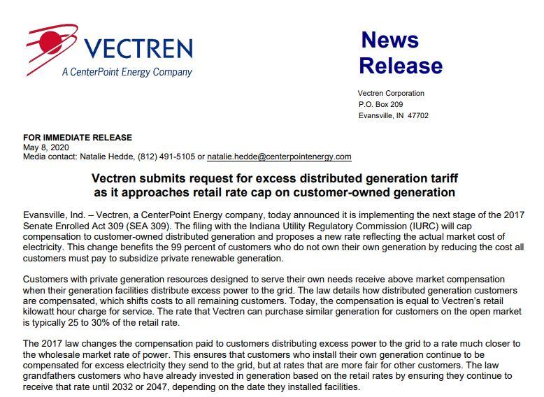Vectren News Release EDG_1