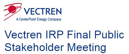 Vectren Final IRP Mtg